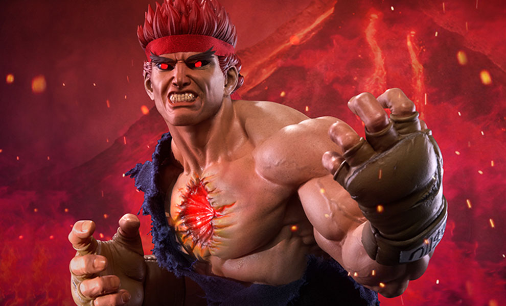 Gallery Feature Image of Evil Ryu Statue - Click to open image gallery
