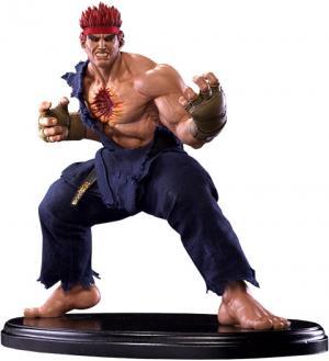 Evil Ryu Statue