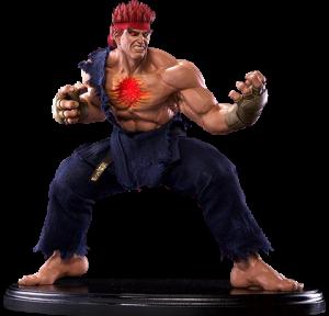 Evil Ryu Murderous Intent Statue