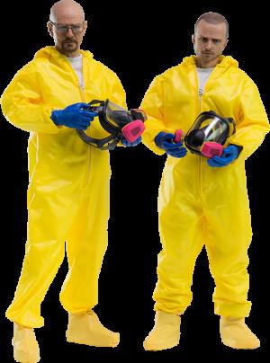 Heisenberg Jesse Hazmat Suit Combo Sixth Scale Figure