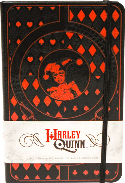 Insight Editions Harley Quinn Hardcover Ruled Journal Book