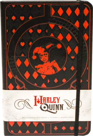 Harley Quinn Hardcover Ruled Journal Book
