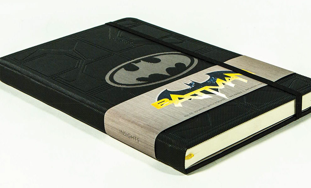 Gallery Feature Image of Batman Hardcover Ruled Journal Book - Click to open image gallery