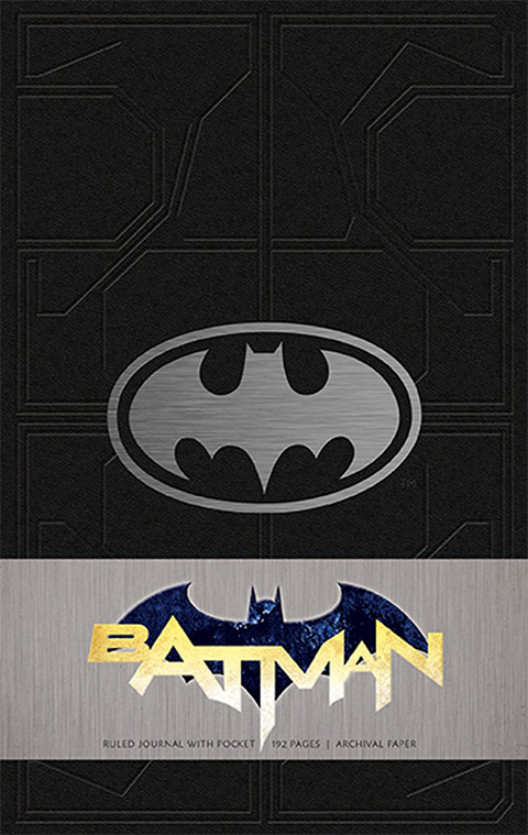 Insight Editions Batman Hardcover Ruled Journal Book