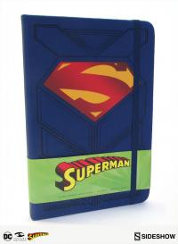 Gallery Image of Superman Hardcover Ruled Journal Book