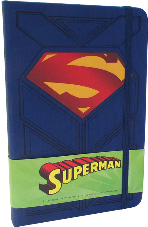 Insight Editions Superman Hardcover Ruled Journal Book
