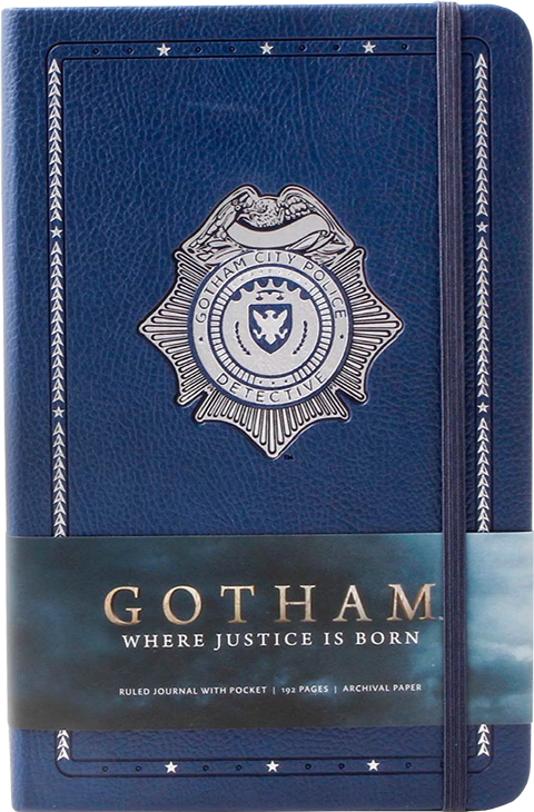 Insight Editions Gotham Hardcover Ruled Journal Book