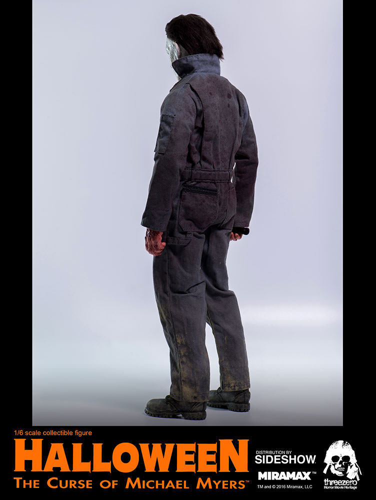 CUSTOM 1//6 Halloween Michael Myers 1 Coveralls USA Figure Threezero Toys Hot