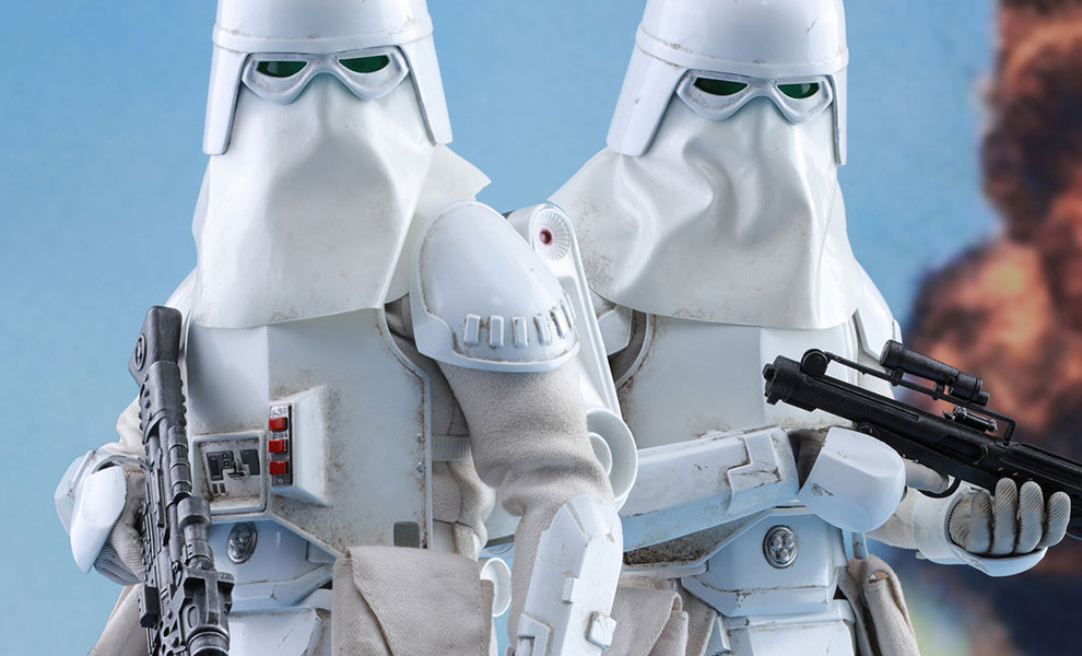 Gallery Feature Image of Snowtroopers Sixth Scale Figure - Click to open image gallery