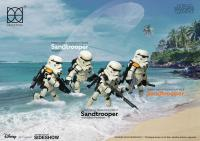 Gallery Image of Sandtrooper with Black Pauldron Collectible Figure