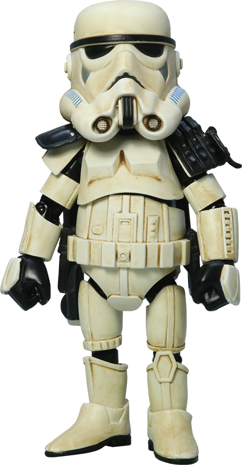 Herocross Company Limited Sandtrooper with Black Pauldron Collectible Figure