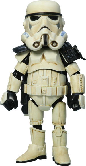 Sandtrooper with Black Pauldron Collectible Figure