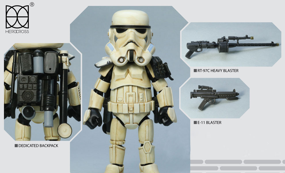 Gallery Feature Image of Sandtrooper Sergeant Collectible Figure - Click to open image gallery