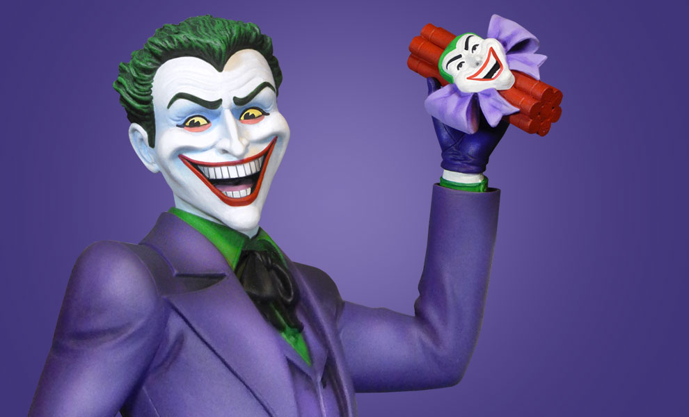 Gallery Feature Image of Classic Joker Maquette - Click to open image gallery
