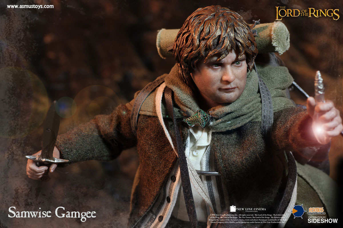 The Lord Of The Rings Frodo And Sam Sixth Scale Figure Set B Sideshow Collectibles