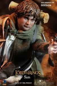 Gallery Image of Frodo and Sam Sixth Scale Figure