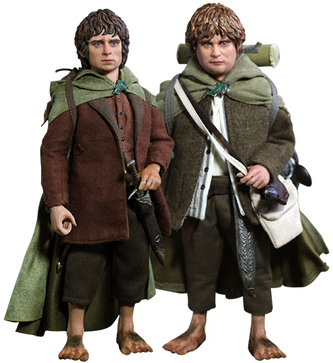 Asmus Collectible Toys Frodo and Sam Sixth Scale Figure
