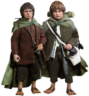 Frodo and Sam Sixth Scale Figure