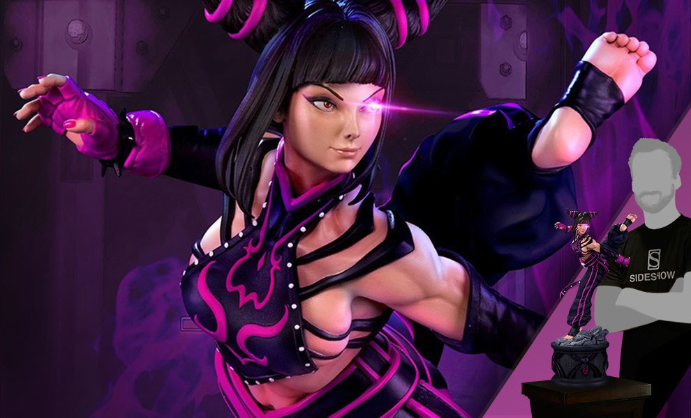 Gallery Feature Image of Juri Player 2 Black Statue - Click to open image gallery