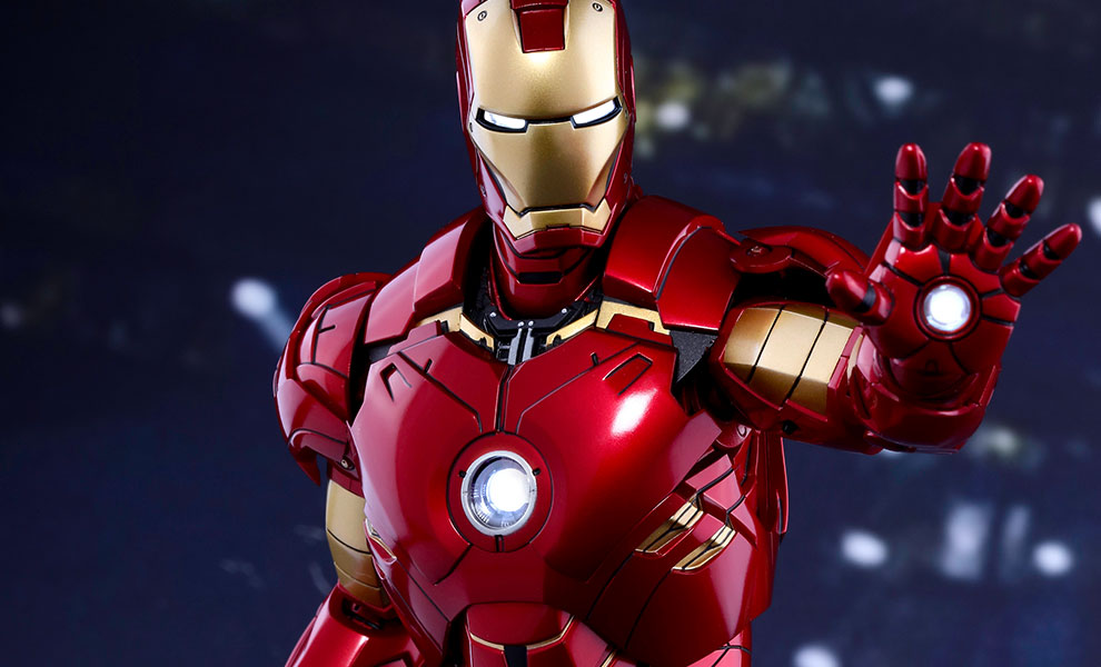 Gallery Feature Image of Iron Man Mark IV Sixth Scale Figure - Click to open image gallery