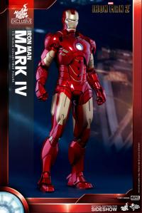Gallery Image of Iron Man Mark IV Sixth Scale Figure