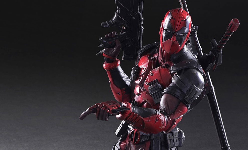 Gallery Feature Image of Deadpool Collectible Figure - Click to open image gallery