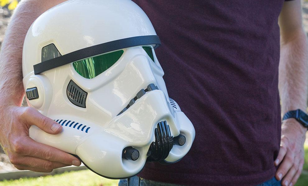 Gallery Feature Image of Stormtrooper Helmet Prop Replica - Click to open image gallery