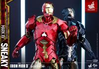 Gallery Image of Iron Man Mark XV - Sneaky Retro Armor Version Sixth Scale Figure