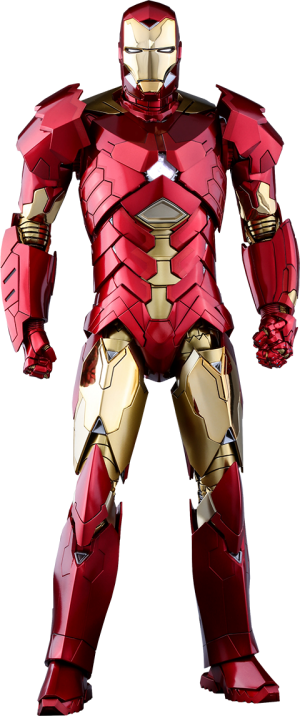 Iron Man Mark XV - Sneaky Retro Armor Version Sixth Scale Figure