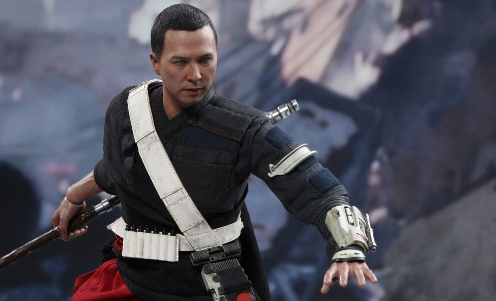 Gallery Feature Image of Chirrut Imwe Sixth Scale Figure - Click to open image gallery