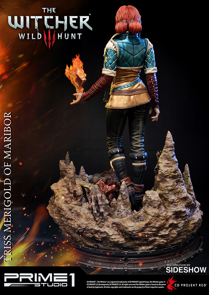 The Witcher 3: Wild Hunt Triss Merigold of Maribor Statue by