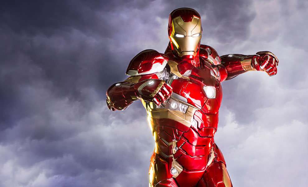 Gallery Feature Image of Iron Man Mark XLVI Statue - Click to open image gallery