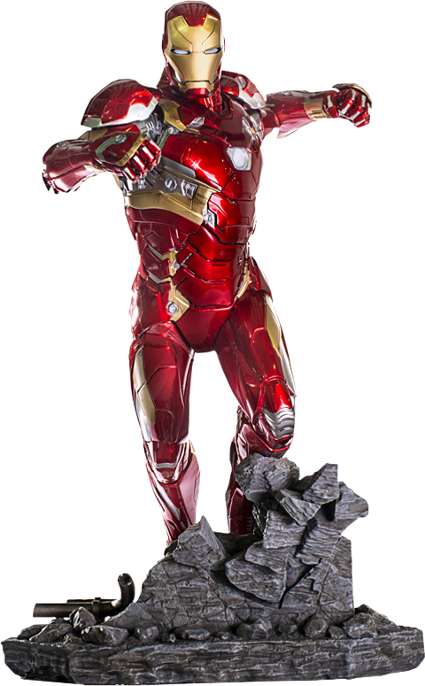 Iron Studios Iron Man Mark XLVI Statue