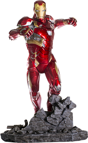 Iron Man Mark XLVI Statue