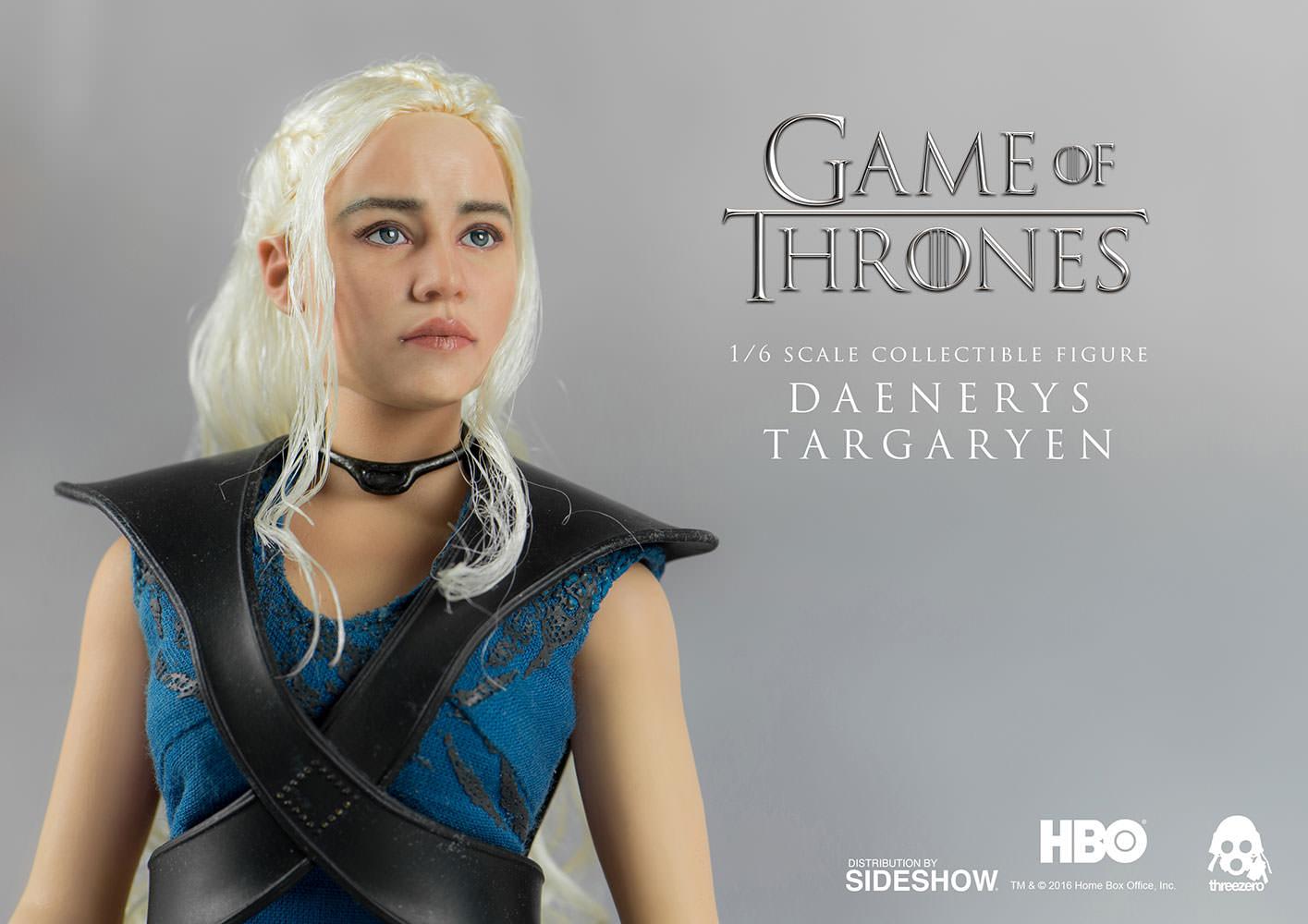 THREEZERO 1//6 SCALA GAME OF THRONES Daenerys Targaryen Figure da Collezione Nuovo
