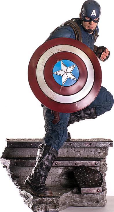 Iron Studios Captain America Ant-Man Statue