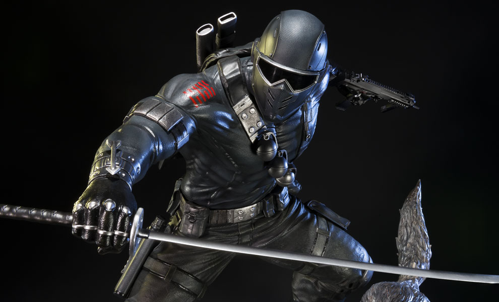 Gallery Feature Image of Snake Eyes Statue - Click to open image gallery