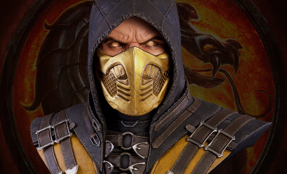 Gallery Feature Image of Scorpion Life-Size Bust - Click to open image gallery