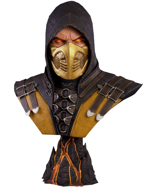 PCS Collectibles Scorpion Hellfire MKX Life-Size Bust