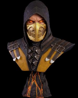 Scorpion Hellfire MKX Life-Size Bust