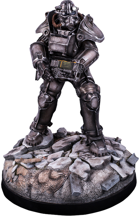 Gaming Heads T-45 Power Armor Statue