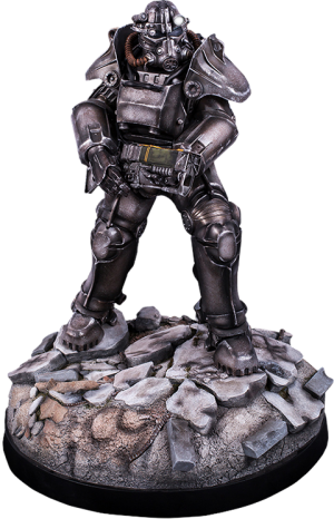 T-45 Power Armor Statue