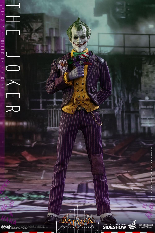 "6/"" DC Direct Batman Arkham Asylum JOKER with Gun Figure Boy Toy Collection Gifts"
