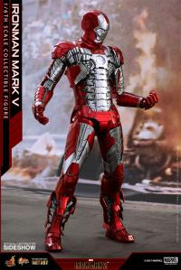 Gallery Image of Iron Man Mark V Sixth Scale Figure