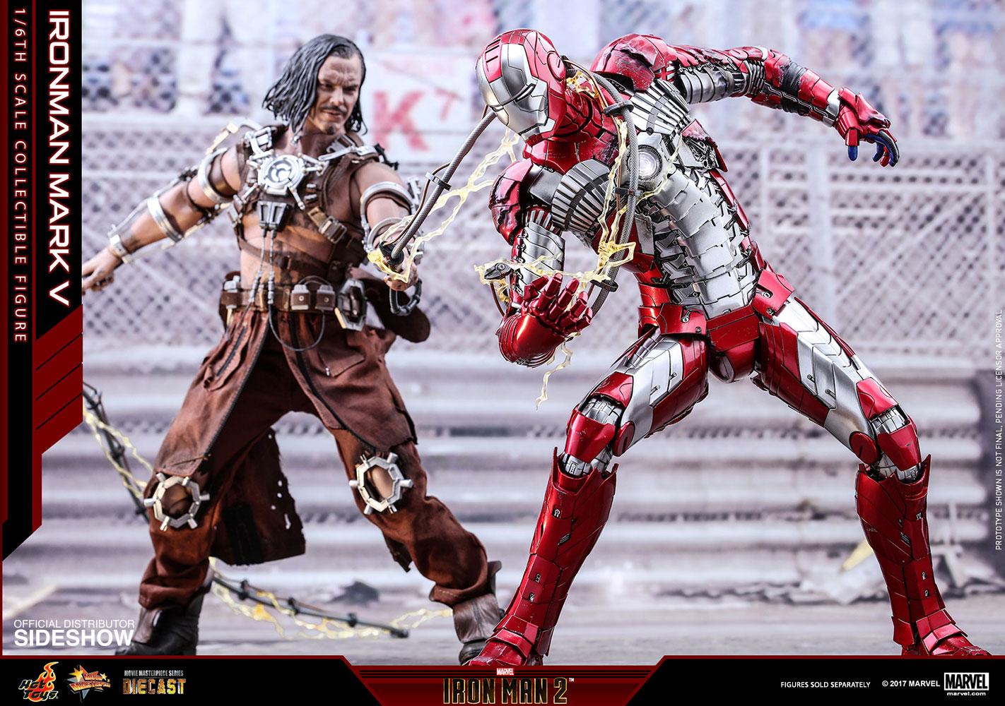 Marvel Iron Man Mark V Sixth Scale Figure By Hot Toys Sideshow