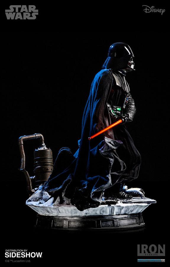 Star Wars Darth Vader Statue by Iron Studios