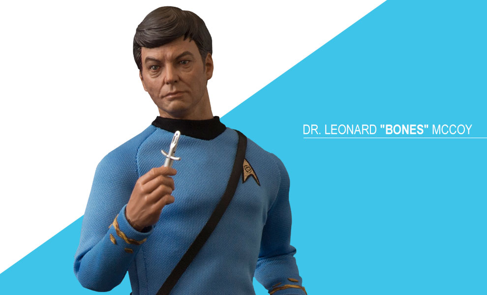 Gallery Feature Image of Dr Leonard Bones McCoy Sixth Scale Figure - Click to open image gallery
