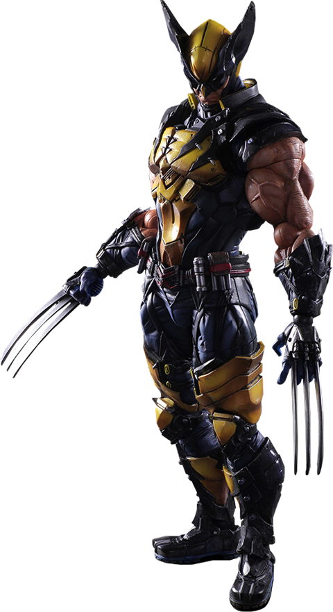 Square Enix Wolverine Collectible Figure