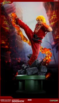 Gallery Image of Ken Masters with Dragon Flame Statue