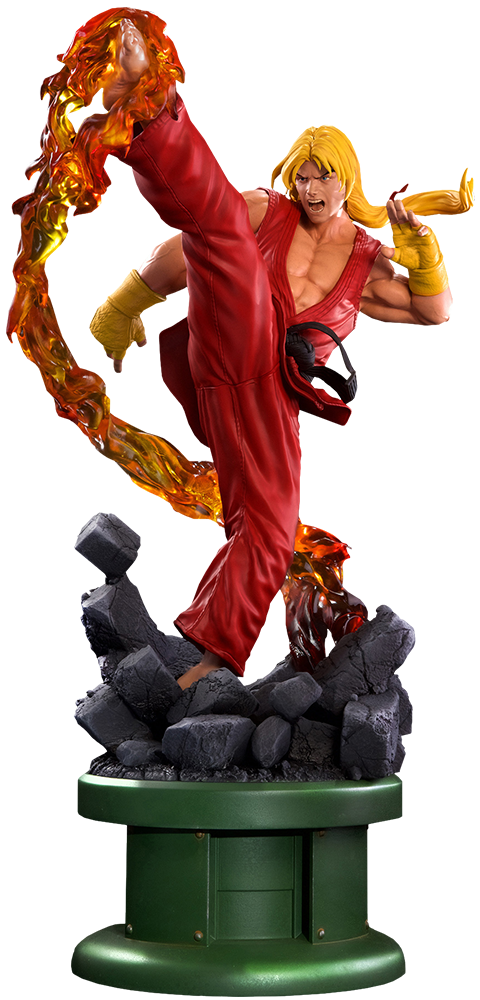 PCS Collectibles Ken Masters Classic Statue